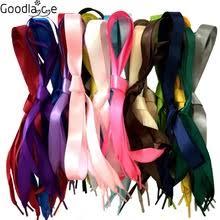 ribbon shoelaces popular satin ribbon shoelaces buy cheap satin ribbon shoelaces
