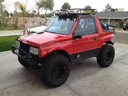 chevy tracker 1995 1993 lifted geo tracker new to me build thread page 3 suzuki