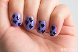 nail art tip how to create the perfect heart