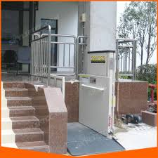 china wheel chair porch lift vertical platform lift china