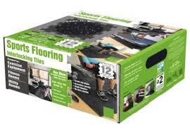 sports flooring interlocking rubber floor tiles