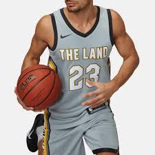 nike nba cleveland cavaliers lebron james swingman city edition