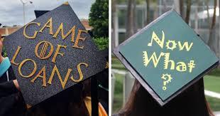 cheap graduation caps 15 graduation cap owners who will go far in bored panda