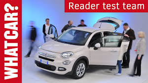 fiat cars 2015 fiat 500x reader review what car youtube