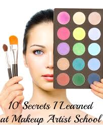 professional makeup artist schools 10 secrets i learned at makeup artist school diy craft project