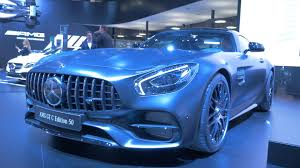 mercedes refreshes the amg gt for 2018 and adds a gt c coupe