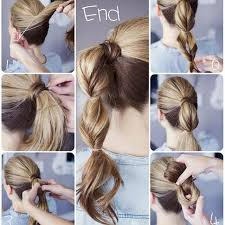 Simple Ponytail Hairstyle Tutorial Simple Ponytail Hairstyles