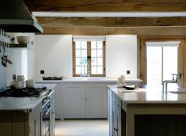 Modern Farmhouse Kitchens Contemporary Farmhouse Kitchen Via Plain English Design