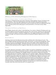 History Of The Filipino Flag History Of The Sakuting Philippine Folk Dance Philippines Dances