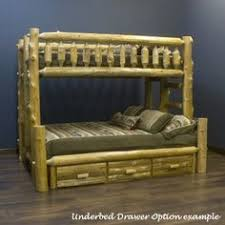 Log Bunk Bed Plans Cedar T F T Q Bunk Beds Uticélok Pinterest Bunk Bed