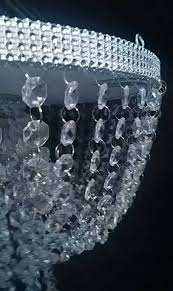 Faux Crystal Chandeliers Faux Crystal Chandelier Style Drape Suspended Swing Cake Stand