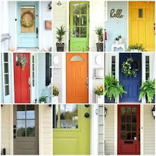 Painting Exterior Doors Ideas Exterior Door Paint Colors Torneififa