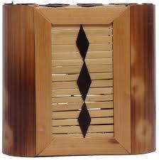 Desk Accessories Organizers by Stand Holder U2013 Handmade In Bamboo U2013 Shades Of Brown U2013 Black