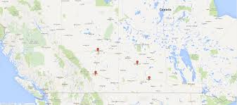 Saskatoon Canada Map by Contact Lydale