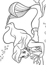 girls cartoons movies ariel mermaid printable coloring