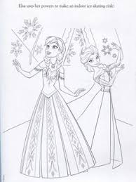 anna frozen coloring embroidery