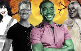 halloween air dancer strictly come dancing 2016 song list for the halloween special