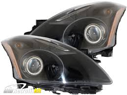 nissan altima 2016 headlights 2010 2012 nissan altima sedan bi xenon hid retrofit headlamps with