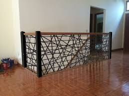 Banister Remodel Inspiring Metal Stair Railing Indoor 20 With Additional House