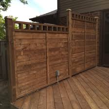 pt deck privacy wall with electrical outlet pools pinterest