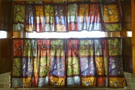 Designs For Kitchen Curtains Country Red Kitchen Curtains With Ideas Gallery 15962 Kaajmaaja