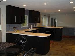 Black Stained Kitchen Cabinets  The Safe Staining Kitchen - Black stained kitchen cabinets
