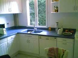 plan de travail cuisine resine plan de travail cuisine en resine de synthese peindre un plan de