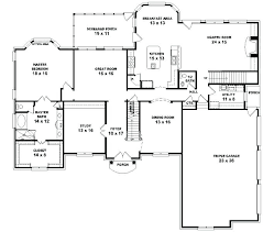 style floor plans style house plans 5 bedroom two story house plans 2 story