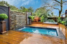 Tiny Pool House Backyard Spa Design Home Outdoor Decoration