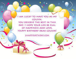 your life happy birthday the charming cousin whole world wishes
