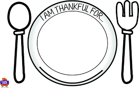 kids thanksgiving placemat free printable