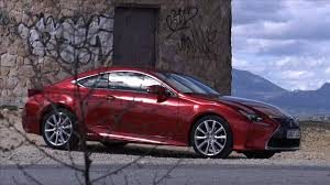 lexus rc coupe actor lexus rc 300h prueba youtube