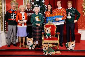 royal family in their sweaters
