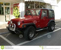 black jeep wrangler red and black jeep wrangler editorial image image 64690120