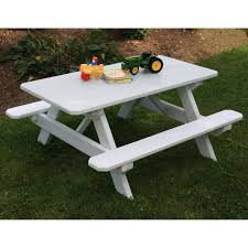 lifetime products kids folding picnic table almond hayneedle
