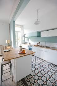 cuisine sol blanc sol blanc brillant with placard de cuisine blanc kitchen