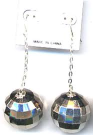 disco earrings silver disco earrings jewelry