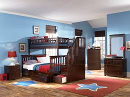 Twin Bunk Beds With Mattress Included Atlantic Furniture Columbia Staircase Bunk Bed Twin Over Full With
