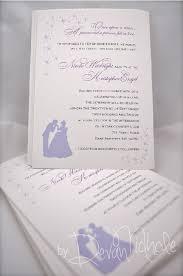cinderella wedding invitations cinderella wedding invitations nimbi creative