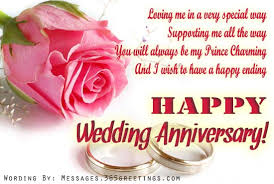 Wedding Day Wishes For Card Nice Wedding Anniversary Message For Husband With Happy