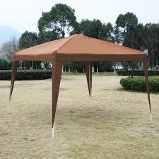 Patio Tent Gazebo 10 X 10 Ez Pop Up Canopy Tent Gazebo