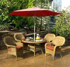 Iron Patio Table With Umbrella Hole by Patio Ideas Image Of Outdoor Table And Chairs Small Iron Patio
