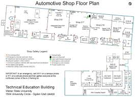 shop floor plan safety pollution prevention items listed