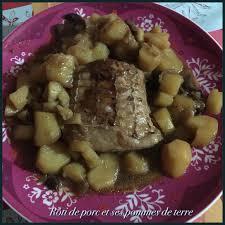 comment cuisiner roti de porc rôti de porc et ses pommes de terre ma cuisine débutante