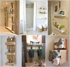 Bathroom Storage Wall Create Wall Storage In Your Bathroom With Diy Shelves