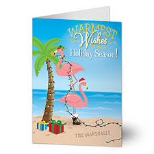 warmest wishes photo card personalized tropical christmas cards warmest wishes