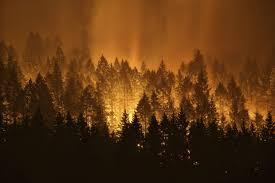 Wildfire Near Reno by Wildfire Weary Western Us Coughs Through Late Season Surge