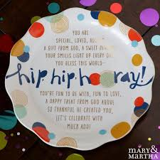 celebrate plate the celebrate you plate creates a great tradition use it for