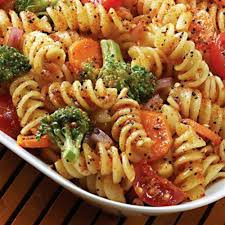 cold pasta salad dressing fruit salad recipe for kids with custard in urdu that keeps cool