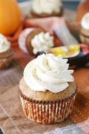 Pumpkin Cupcakes by Pumpkin Kahlua Cupcakes Living Better Together